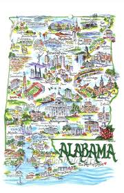 Alabama State Map by Image Detail For State Of Alabama I Love To Frame This For My