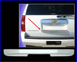 2007 cadillac escalade door handle cadillac escalade chrome rear lift gate handle cover trim