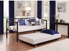 Twin Bed With Pull Out Bed Trundle Bed Ebay