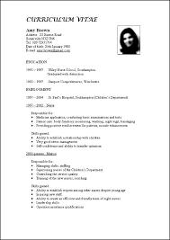 resume format free download 2015 srilanka cool standard curriculum vitae format sle gallery exle