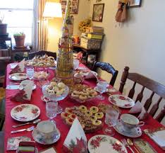 deborah vogts twelve days of christmas tea party