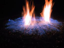 Propane Fire Pits With Glass Rocks by Turn Your Old Lava Rock Into A Modern Glass Fire Pit Our Fire