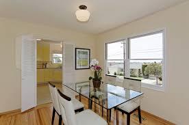 dining room with flush light u0026 hardwood floors in el cerrito ca
