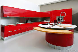 Red Modern Furniture by Pictures Of Kitchens Modern Red Kitchen Cabinets Kitchen 25