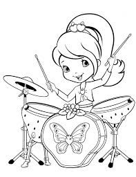 fun strawberry shortcake coloring pages girls 68093