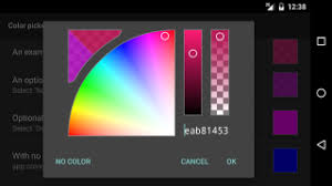 pick color the android arsenal color pickers a categorized directory of