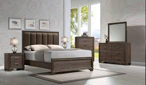acme 25850q 4pc cyrille queen bedroom set w dresser mirror