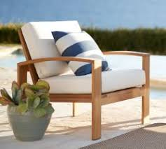 outdoor wood furniture pottery barn