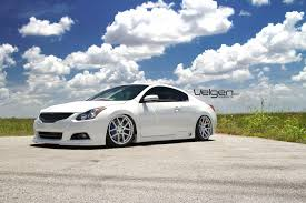 nissan coupe 2005 bagged nissan altima coupe on velgen wheels vmb5 clublexus