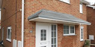 grp canopies for new build houses canopies uk clarendon clarendon view products bay window
