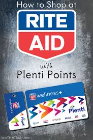 I Used To Be All - how to shop at rite aid using plenti points lauren greutman