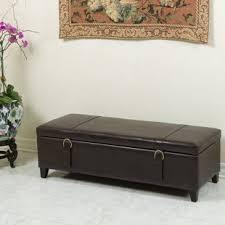 Bench Ottoman With Storage Ottoman Bench Wayfair