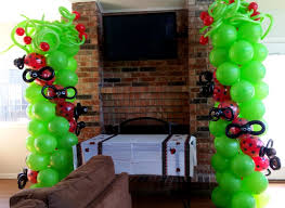 lady bug party theme lady bug balloons lady bug balloon arch