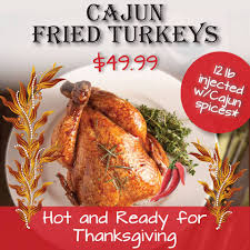 enjoy a thanksgiving feast at dodie s or order a fried cajun