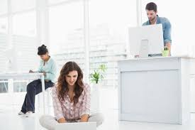Sitting On A Medicine Ball At Desk How To Choose And Use An Exercise Ball Chair Plus Standing Desk Tips