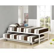 White Daybed With Pop Up Trundle Pop Up Trundle Beds