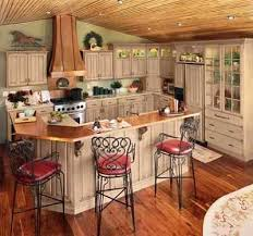 Painted Country Kitchen Cabinets Best  Country Kitchen Cabinets - Country cabinets for kitchen