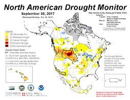 Northern Canada Map Maps And Reports For September 2017 North American Drought Portal