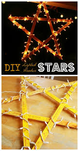 Lighted Christmas Star Display by Craftionary