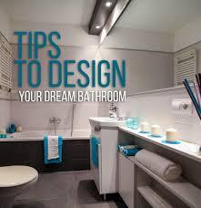 tips to design your dream bathroom designer drains