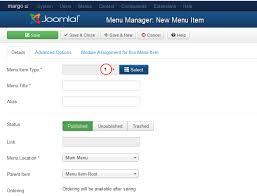 joomla 3 x how to create drop down menu item template monster help