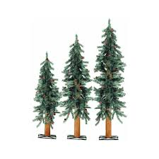 Unlit Artificial Christmas Trees Canada by Amazon Com 2 3 4 Ft Alpine Trees Home U0026 Kitchen