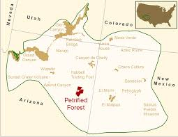 National Forest Map Colorado by Petrified Forest National Park Inventory U0026 Monitoring