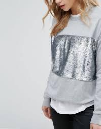 look womens boots sale look boots wide fit look sequin panel sweatshirt jumper