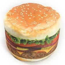 wow works hamburger bean bag chair fab