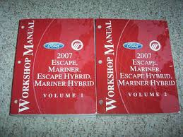 2007 ford escape u0026 hybrid service repair manual xls xlt sport