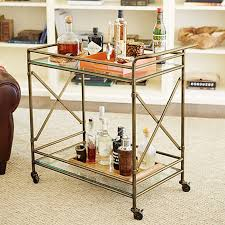 anthropologie ballard designs olivia bar cart mint and honey design