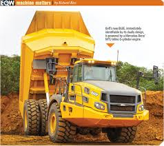 volvo haul trucks for sale articulated dump trucks see rapid size growth as customers move to