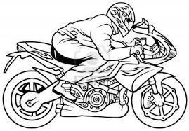 motorcycle 53 transportation u2013 printable coloring pages