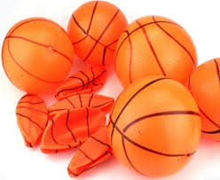 basketball party supplies event party supplies small gift for kids basketball toys 10cm