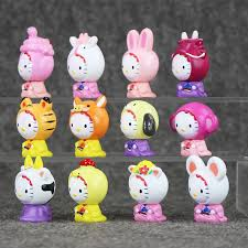 aliexpress buy 3 5cm 12pcs mini brinquedos kitty
