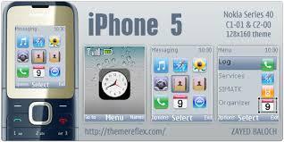 nokia 5130 menu themes iphone 5 theme for nokia c1 01 c2 00 themereflex