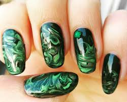Migi Nail Art Design Ideas Nail Art Designs Green Color Best Nail 2017 Marias Nail Art And