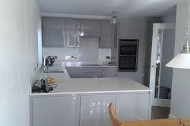 Kitchen Design Liverpool Sheraton Gloss Grey Kitchen Kirkby Liverpool Sheraton Kitchens