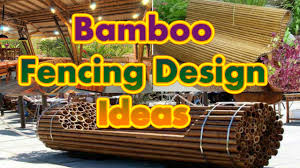 Craft Design Ideas Bamboo Fencing Design Ideas Great Bamboo Craft Ideas Youtube