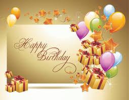 happy birthday postcards happy birthday postcard 02 vector free vector 4vector