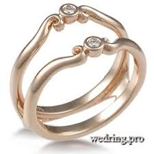engagement ring enhancers wedding ring wraps and guards delicacy exquisiteness and luxury
