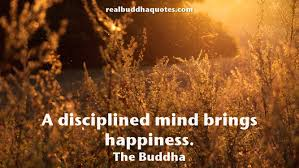 a disciplined mind brings happiness the buddha buddha quotes