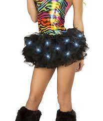 Light Halloween Costumes Black Light Tutu Led Lights Halloween Costume Petticoat Rave