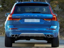 xc60 r design 2018 volvo xc60 t6 r design color bursting blue rear hd