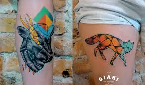 15 cool animal tattoos by various artists scene360