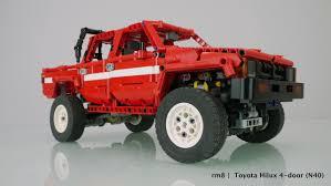 lego toyota toyota hilux 84 u0027 lego technic 40th anniversary run 1977 2017