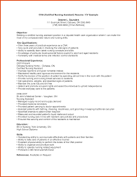 example of objective for resume cna objective resume examples resume for your job application cna sample resume moa format cna sample resume sample resume for nursing assistant with no experience