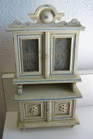Kitchen Hutch Furniture 184 Best Miniature Hutches Images On Pinterest Miniature Houses