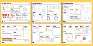 maths mats year 4 primary resources activities and page 1