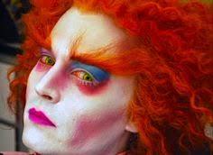 Johnny Depp Costumes Halloween Mad Hatter Makeup Johnny Depp Johnny Depp Alice